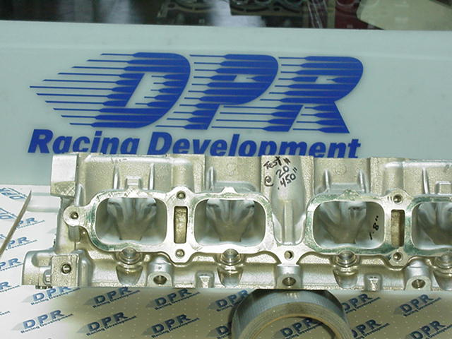 Cylinder Head Porting >> DPR 3SGTE MR2 Competion Head work