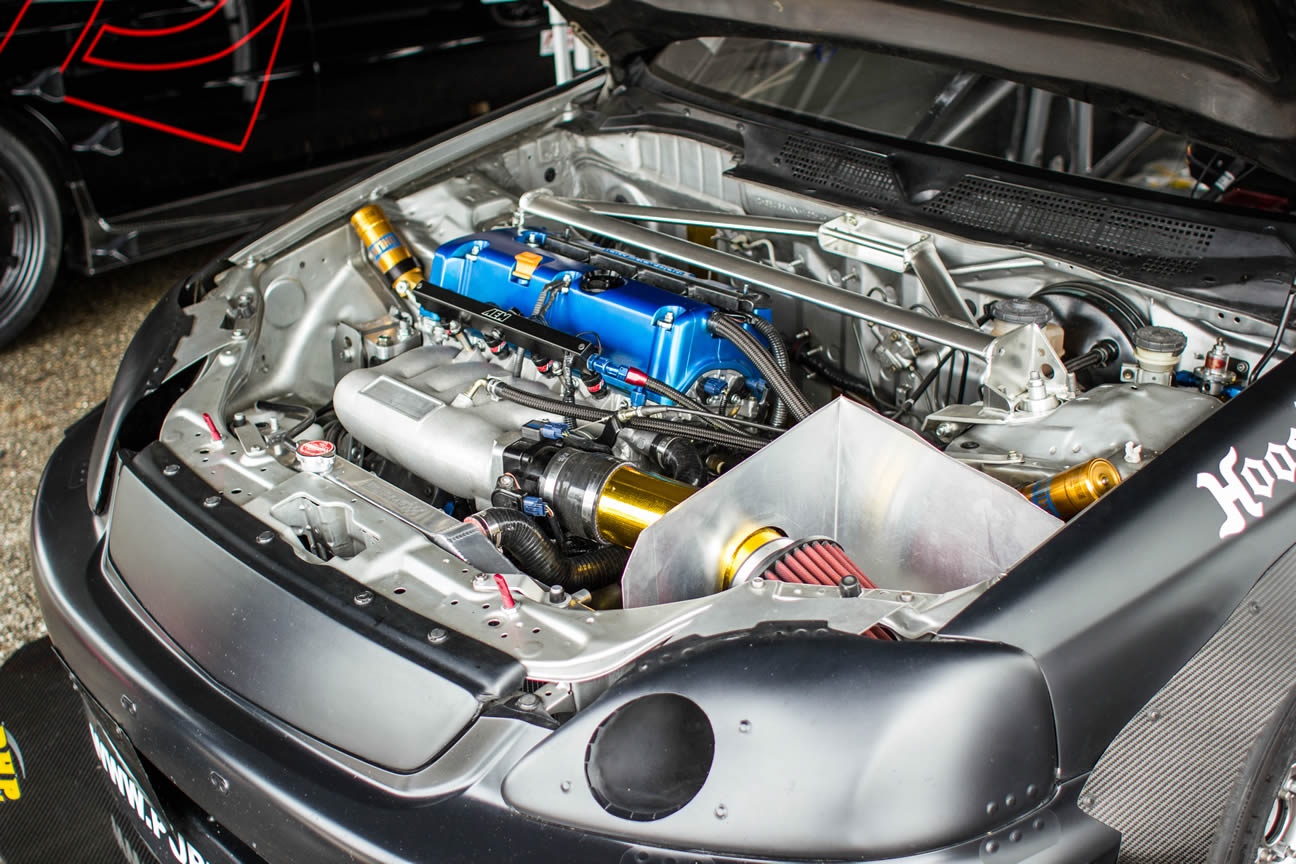 Pure Tuning Civic Ek K24 Time Attack